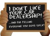 dealership sucks